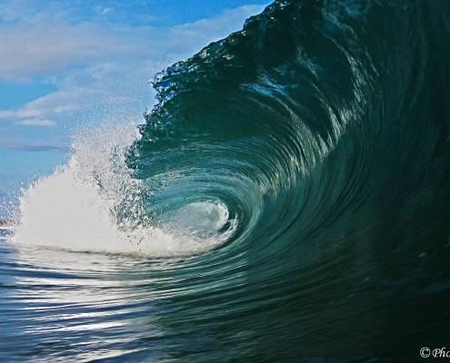 Phot'eau Corse vague parfaite