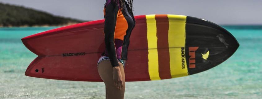 Surfboard corse