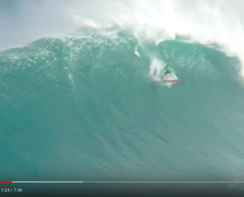chute jaws surf corse