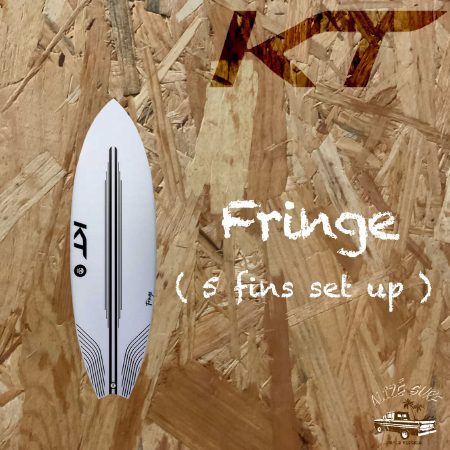 surf board kt fringe alize surf shop porto Vecchio corse