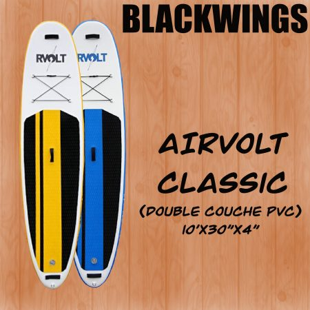 paddle gonflable en corse a porto vecchio alizé surf shop blackwing airvolt
