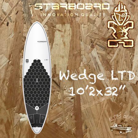 starboard wedge limited edition paddle rigide porto vecchio alize surf shop corse