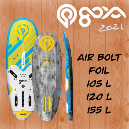 Goya air bolt foil porto vecchio corse alize surf shop windsurf