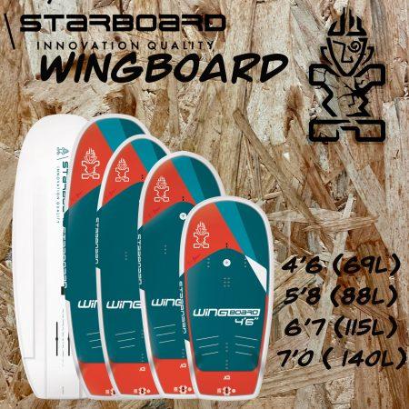 starboard wing foil corse porto vecchio alize surf shop
