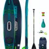 le premier paddle gonflable-électrique jobe a alizé surf shop en corse