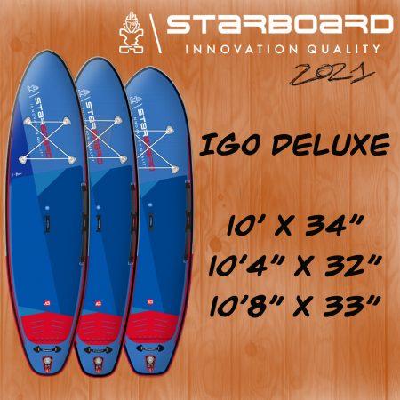 paddle gonflable starboard igo deluxe a alize surf shop en corse a porto vecchio