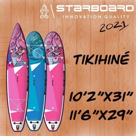 paddle gonflable starboard tikihine a alize surf shop en corse a porto vecchio
