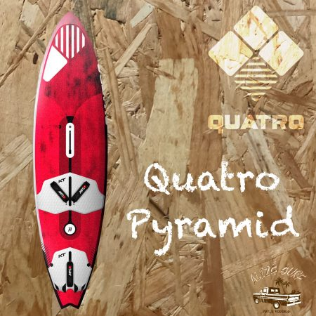 quatro pyramid wave windsurf board corse porto vecchio alize surf shop