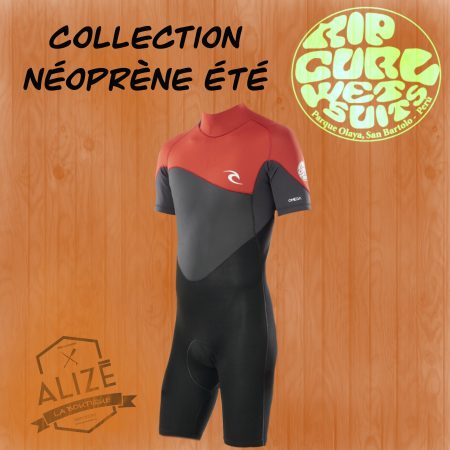 collection été Rip Curl shorty intégrale alizé surf shop corse porto vecchio