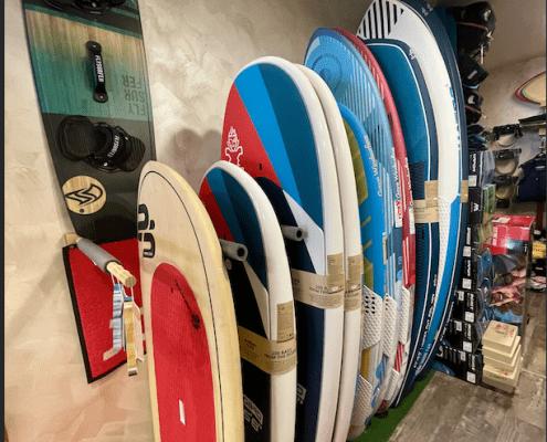 windsurf wing et paddle starboard Goya quatro porto vecchio alize surf shop corse