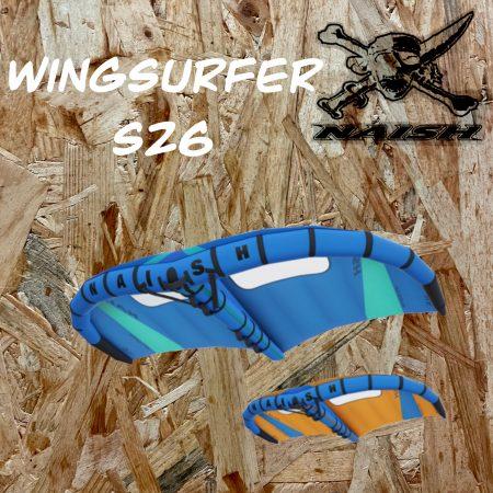 wing foil en corse alize surf shop porto vecchio naish wingsurfer