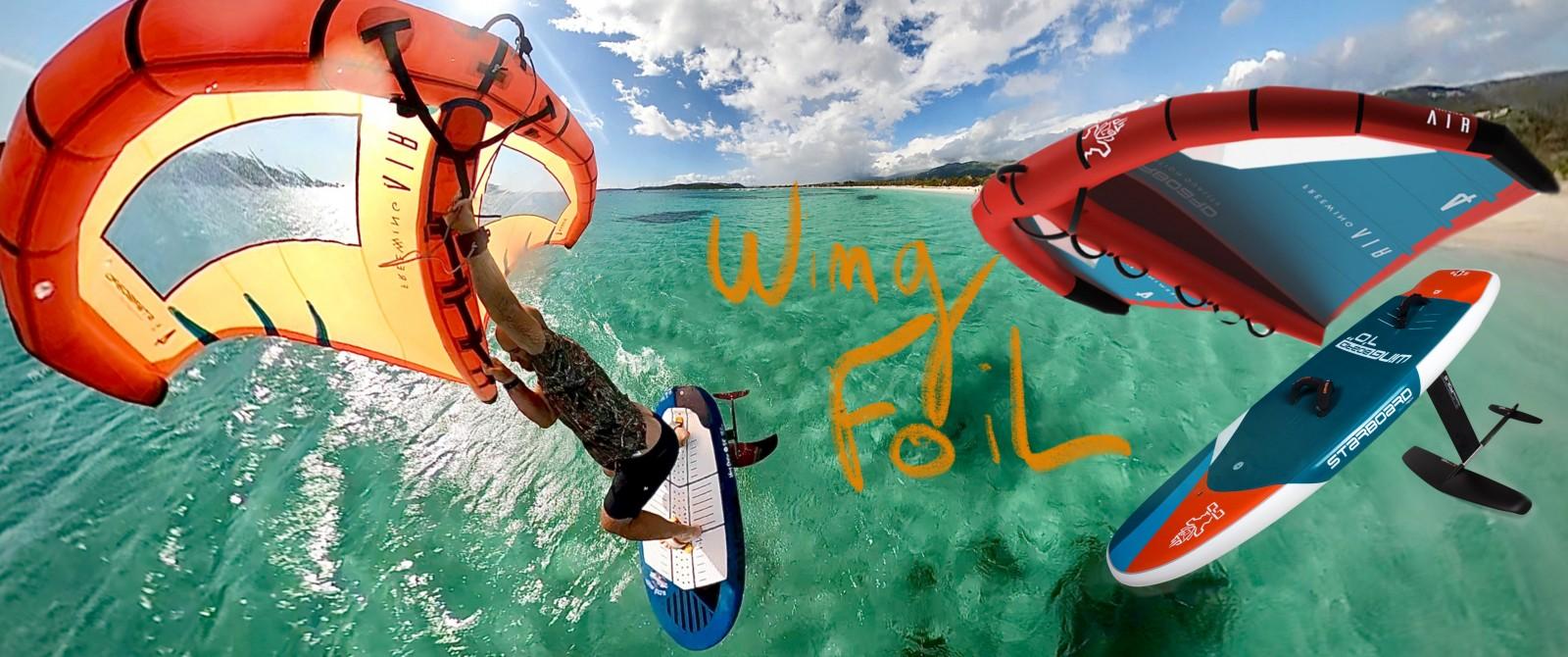 wing foil corse porto vecchio alize surf shop